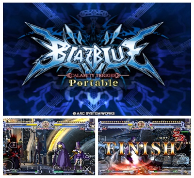 blazblue calamity trigger portable android