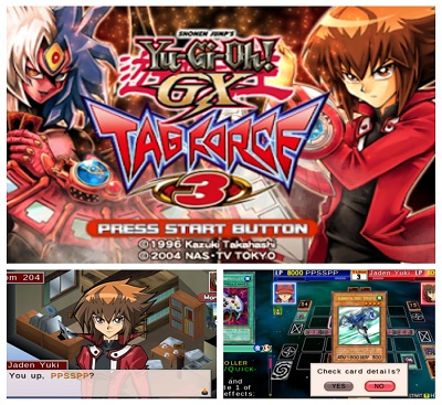 yu-gi-oh gx tag force 3 ppsspp android