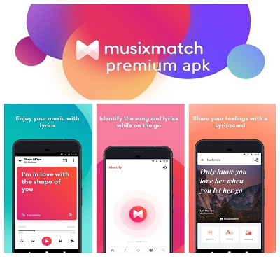 musixmatch premium apk download