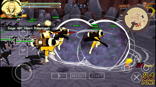 Naruto Shippuden Ultimate Ninja Storm 5 _v[MODDED] iso for Android